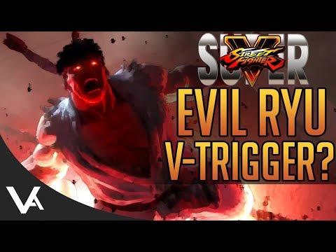 SFV - Red EX Specials & Evil Ryu V-Trigger? More Super Street Fighter 5 Leaks?