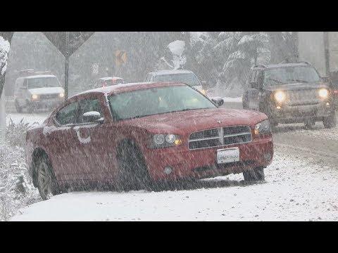 Heavy Snow Finally Hits B.C.