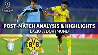 Lazio vs Dortmund: Post Match Analysis & Highlights   UCL on CBS Sports