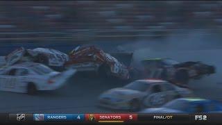 ARCA Racing Series 2017. Talladega Superspeedway. Big Crash