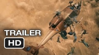 World War Z Official Trailer #2 (2013) - Brad Pitt Zombie Movie HD