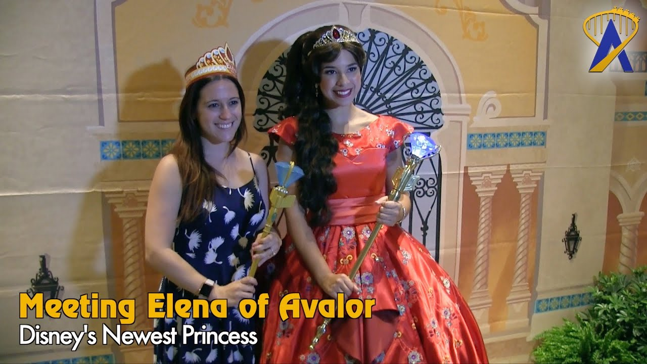 Special Meet With Princess Elena Of Avalor At Walt Disney World