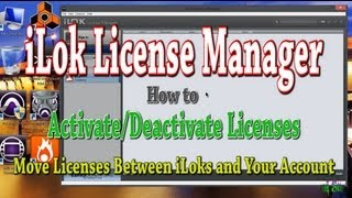 iLok License Manager - How To Move Licenses Between iLoks and Your iLok Account