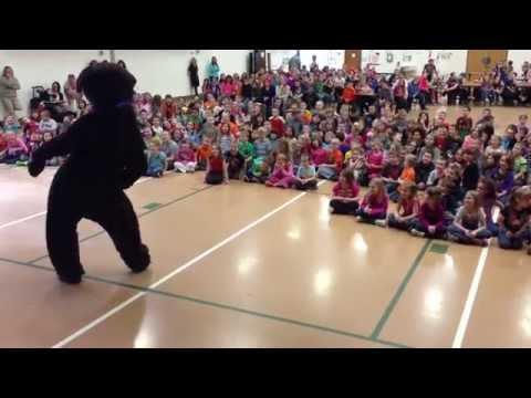Russian Bear at the Port Allegany Elementary School