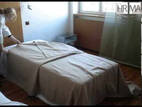 cours d'hébergement au lycée alexandre dumas : techniques du lit à