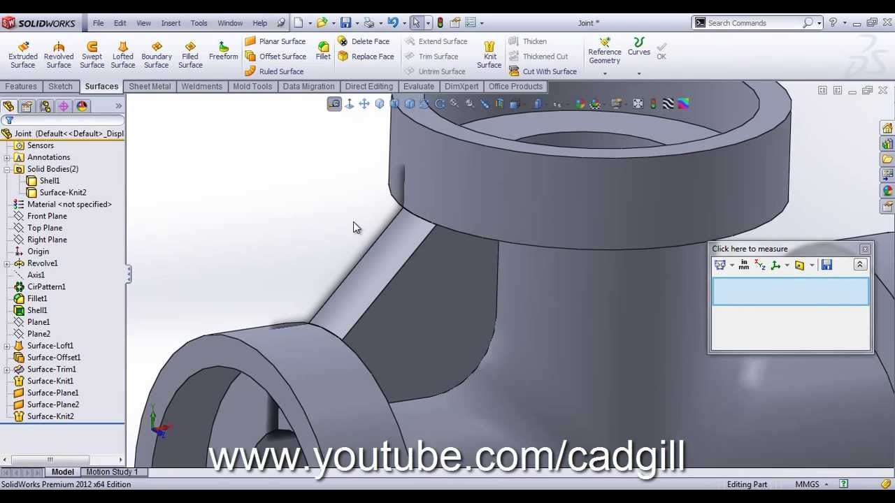 Tip Rib On Circular Edges In Solidworks Video Tutorial
