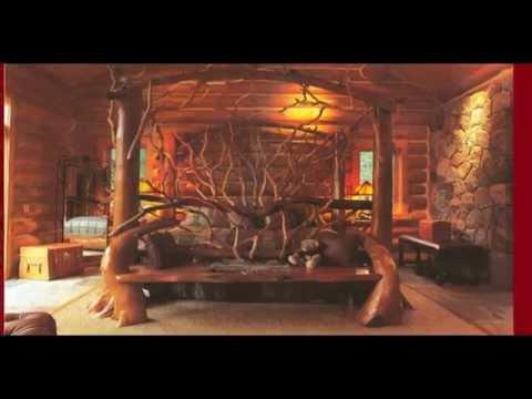 видео: Эксклюзивная мебель из цельного дерева и корней своими руками.