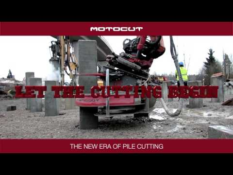 Pile cutting - the new era of pile cutting by MotoCut