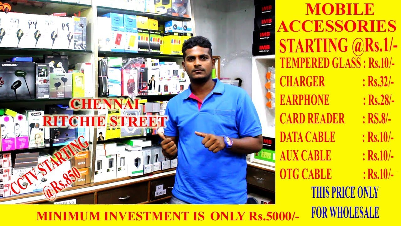 Wholesale Distributors In Chennai Chennai Ritchie Street Mobile Accessories And Electronic