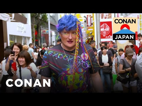 Conan Hits The