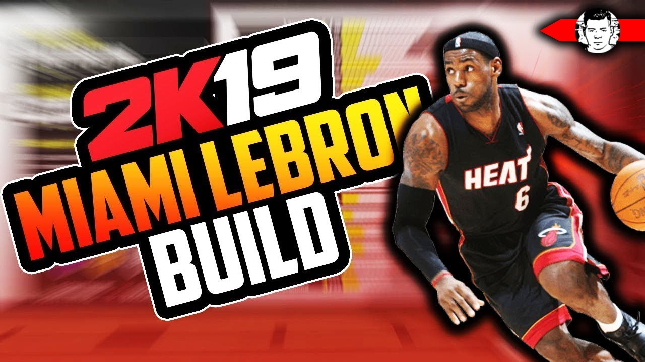 ad7b93b1ce34 THE MOST SLEPT ON ARCHETYPE IN NBA 2K19! MIAMI HEAT LEBRON JAMES BUILD!