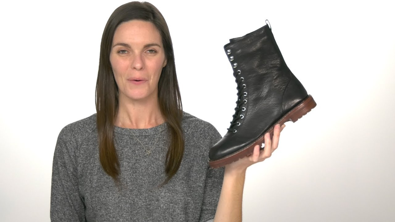 J.Crew Leather Lace-Up Micah Boot SKU