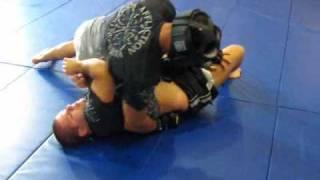 MMA legend Minotauro Nogueira sparring for UFC 110 part 1