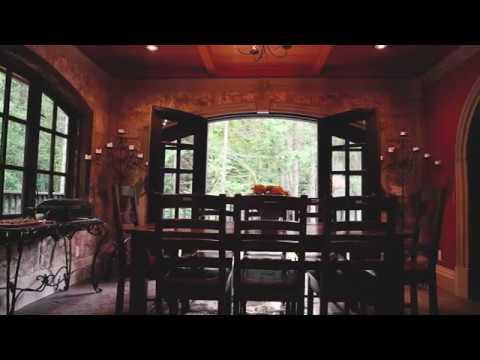 Stone Hearst Renaissance Villa on Salt Spring Island