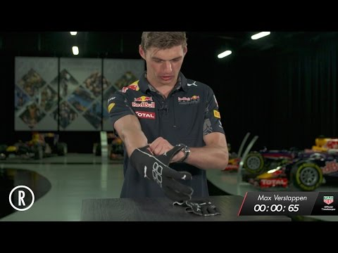 The Red Bull Racing 1.92 Second Challenge: Gloves! - Max Verstappen
