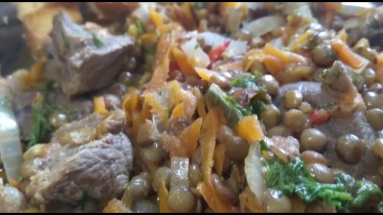 Пища Богов! Чечевица с мясом - Быстрые рецепты