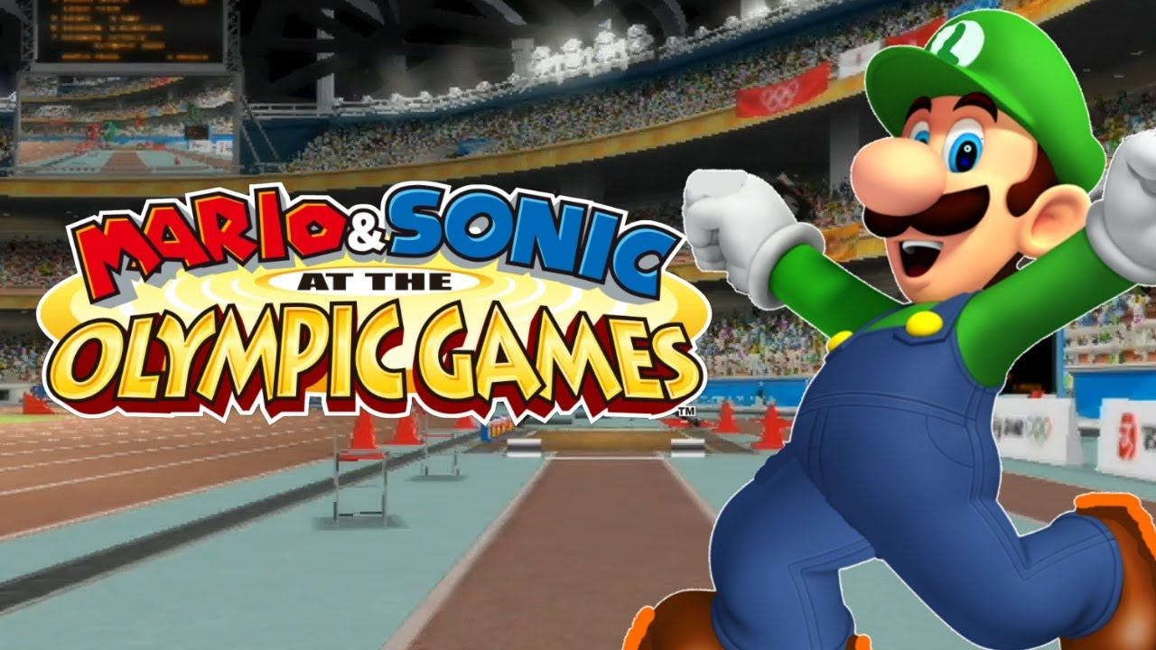 World Record Long Jump! (Mario & Sonic at the Olympic ...