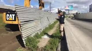 Oscar EL Blue surveys to new border wall construction in Tijuana, Baja California | #BNN