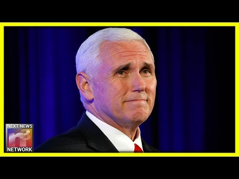 Mike Pence STOPS Mid-speech, RUSHES To Rescue Fallen Hero