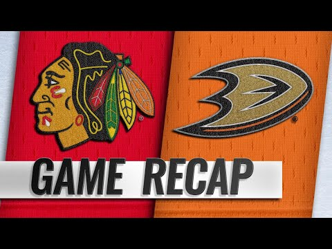 Ducks double up Blackhawks for fifth straight win