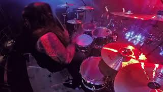 ASPHYX@Candiru-Stefan Hüskens-Metalmania 2018 (Drum Cam)