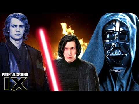 Star Wars Episode 9 Anakin's Ghost! Potential Spoilers & More (Anakin Skywalker Force Ghost)
