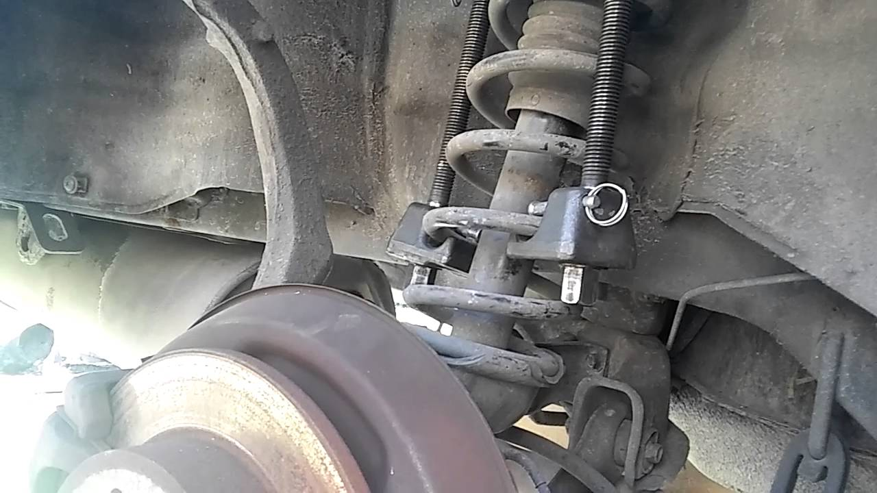 remove rear struts     honda accord youtube
