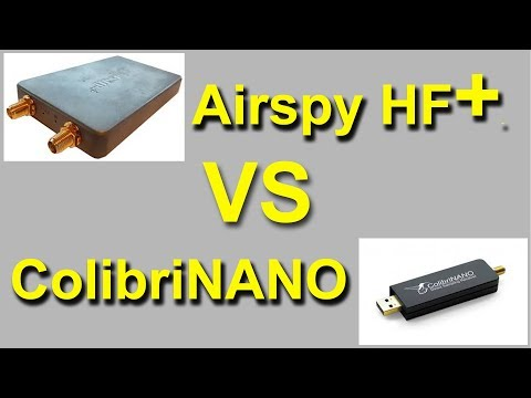 Airspy HF+ vs ColibriNANO Comparison on 3.579 MHz