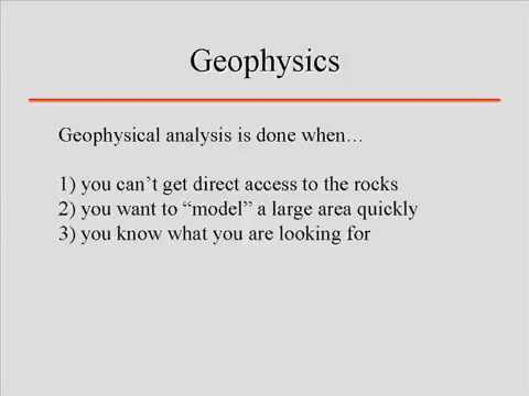 Geophysics  Lecture 1  Introduction to Geophysics