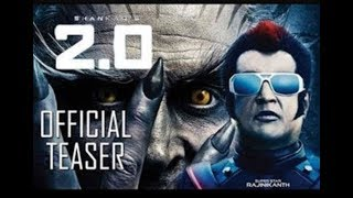 2.0 trailer best action  bollywood sci-fi film, Akshay Kumar, Rajnikant movie by gold action film