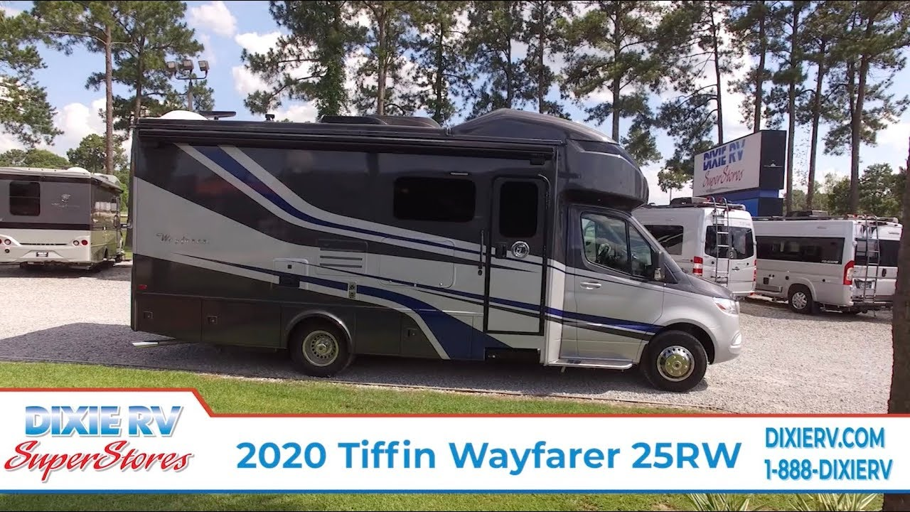 2020 Tiffin Wayfarer 25RW for sale at Dixie RV in Hammond, LA