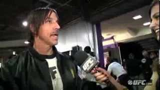 UFC on FOX 9: Anthony Kiedis Interview
