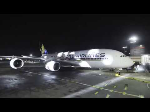 Welcoming the new A380 into London | Singapore Airlines