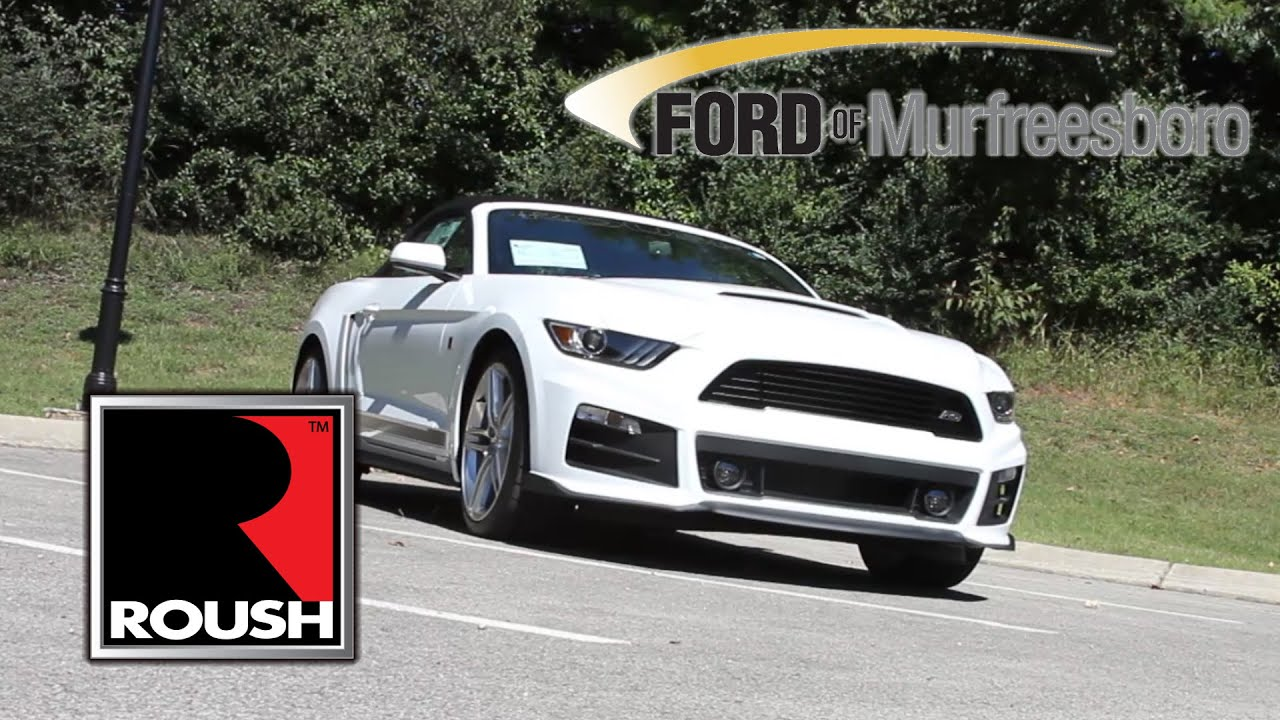 2015 ford roush rs mustang white convertible - 2015 Ford Mustang White Convertible