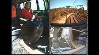 CSR SDA1 locomotive traction trials Cowan Bank NSW Australia