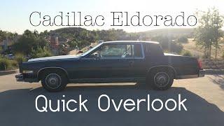 Clean! Cadillac Eldorado 1984 #Review