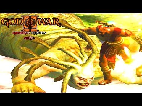 "GOD OF WAR 2 General Kratos #05 "" CERBERUS E MEDUSA GORDA "" LEG PT BR"