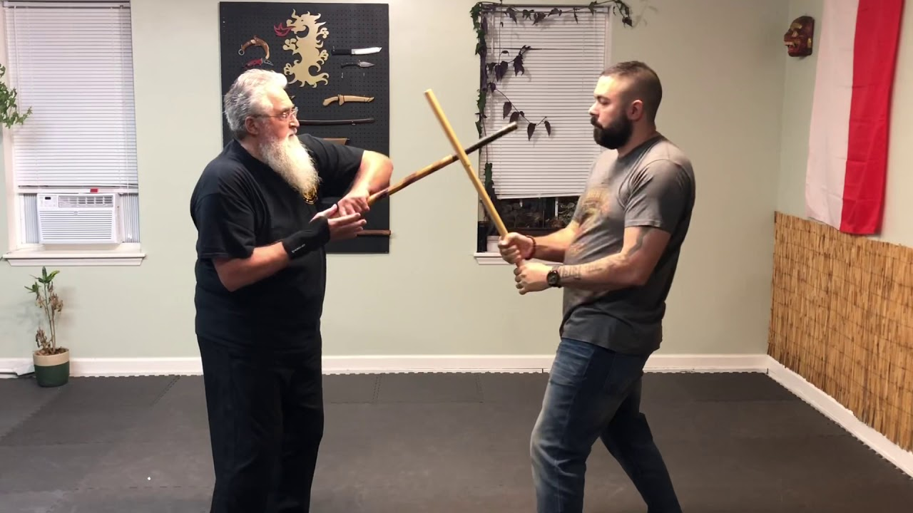 Parang (Machete) training drill for grip switches