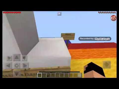 Parkurda Gel Minecraft
