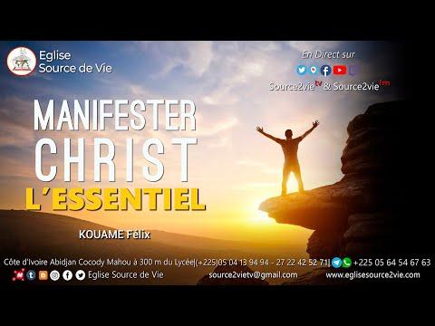 KOUAME Félix | Manifester Christ, L'essentiel