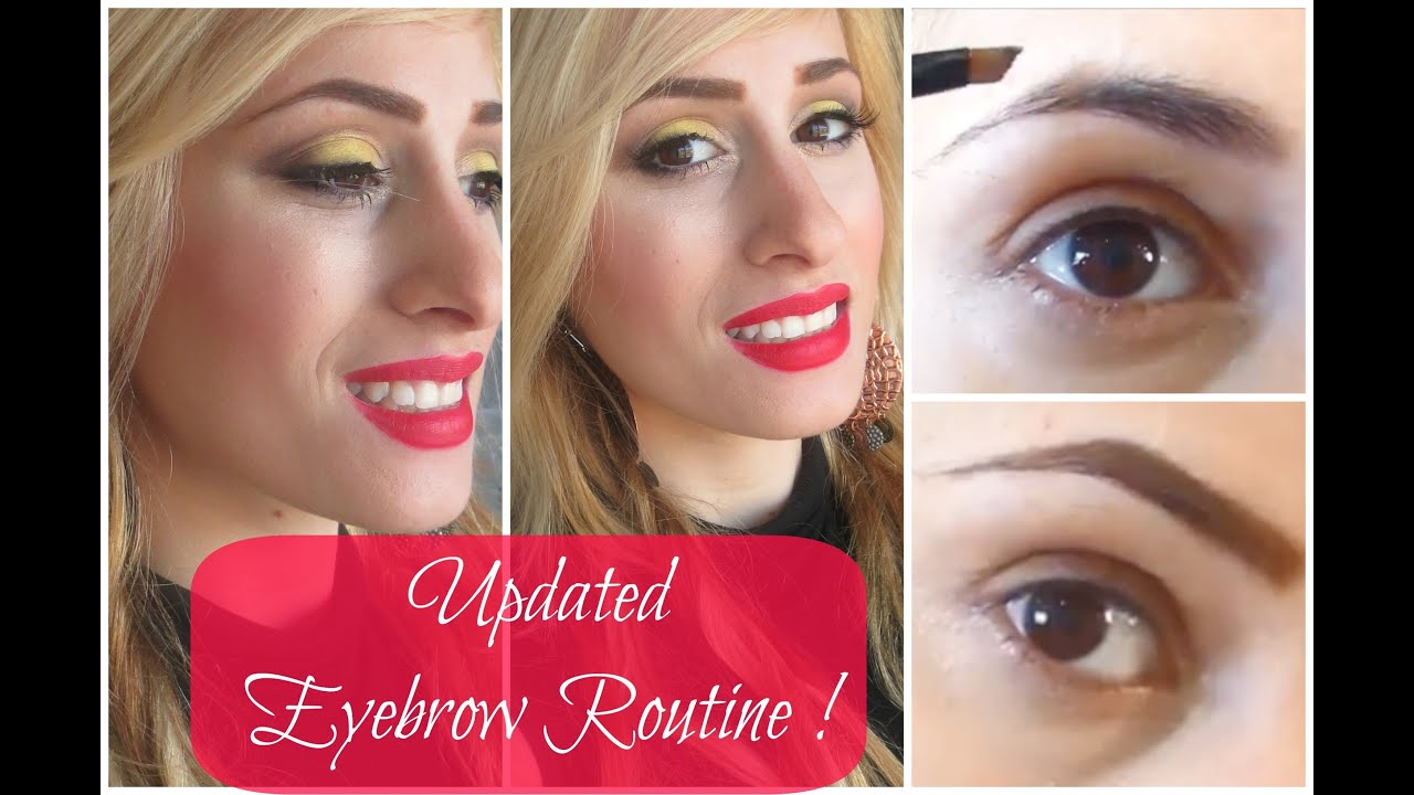 Tutorial For Blondes Updated Eyebrow Routine Non Tinted Brows