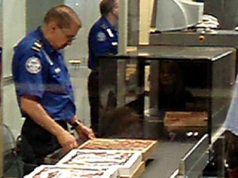 Pizza At The Airport - AA Flight 547