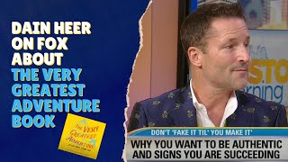 Dain Heer on FOX About The Very Greatest Adventure book