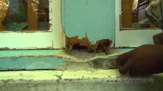 Repairing Rotten Wooden Window Frames - GREAT TIPS