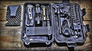 Набор выживания/НАЗ/Survival Kit/Карбоновый кошелек