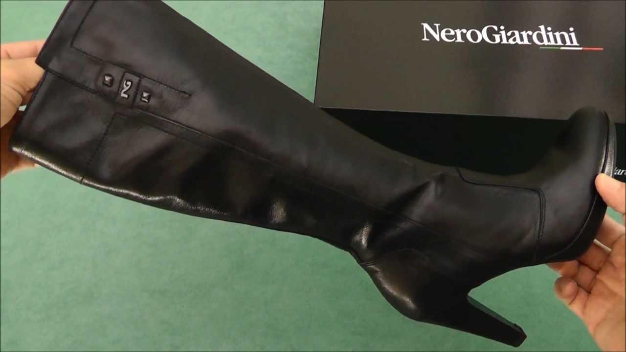 super popolare 12079 840fa Nero Giardini stivali A309252D