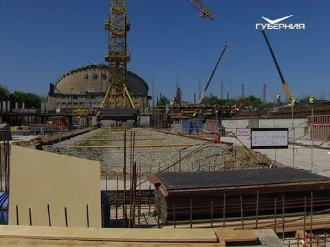 Когда откроется Дворец спорта на Молодогвардейской. Новости Губернии от 10 июня