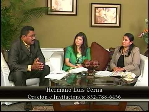 Entrevista Hno. Luis Cerna - Programa JESUS TE AMA - Canal 55.3 Houston TX