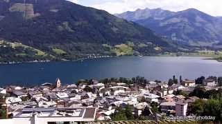 Zell am See Austria Lake Panorama   Seepanorama Zell am See vom Sonnberg aus