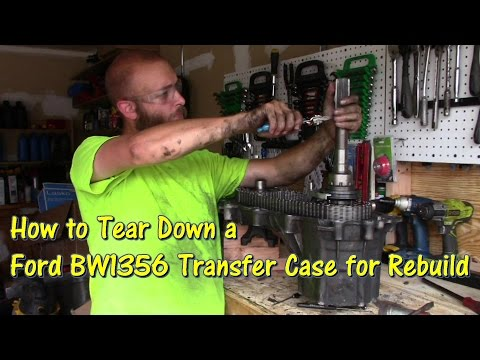 How to Tear Down an F-Series & Bronco BW1356 Transfer Case for Rebuild by @GettinJunkDone
